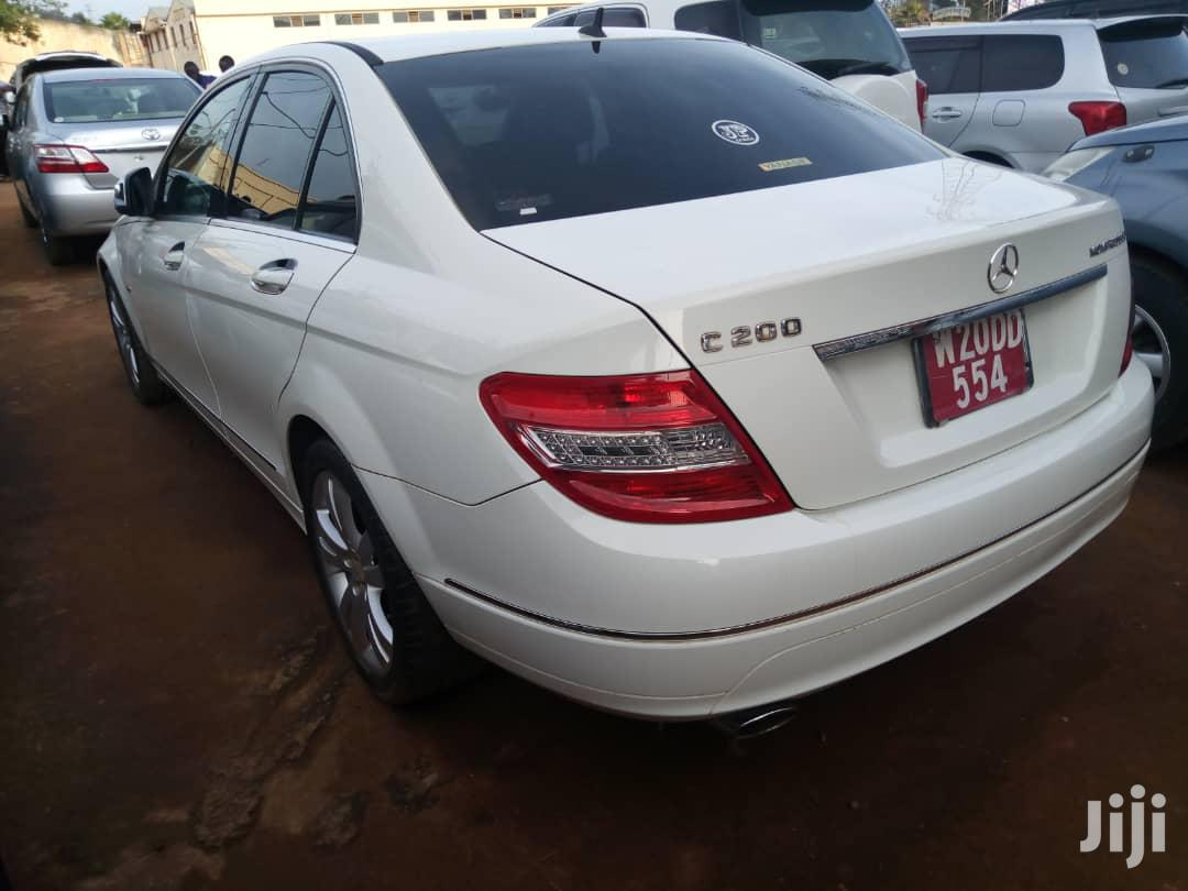 Mercedes-Benz C200 2013 White | Cars for sale in Kampala, Central Region, Uganda