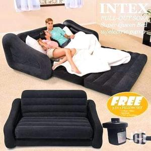2 In 1 Intex Inflatable Pull Out Sofa /Bed