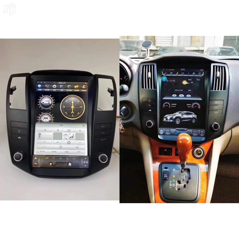 Customized Car Radio For Harrier Rx330