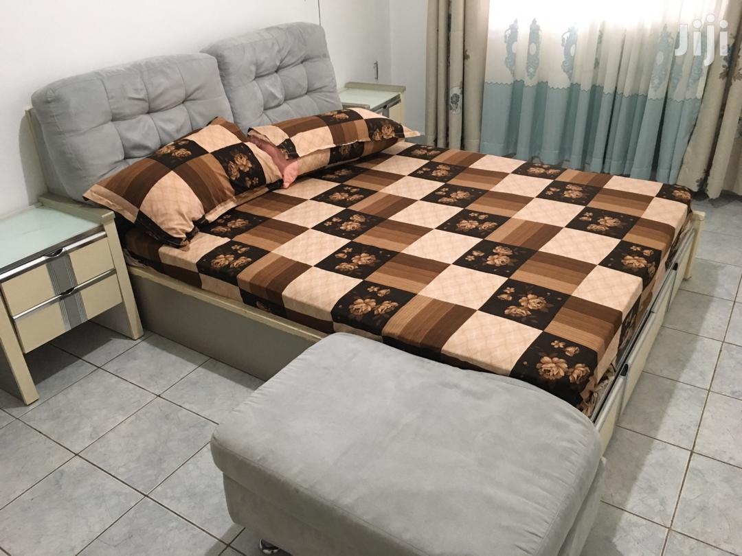 Quality Imported Bed and Unique Mattress With Dressing Mirror. | Furniture for sale in Kampala, Central Region, Uganda