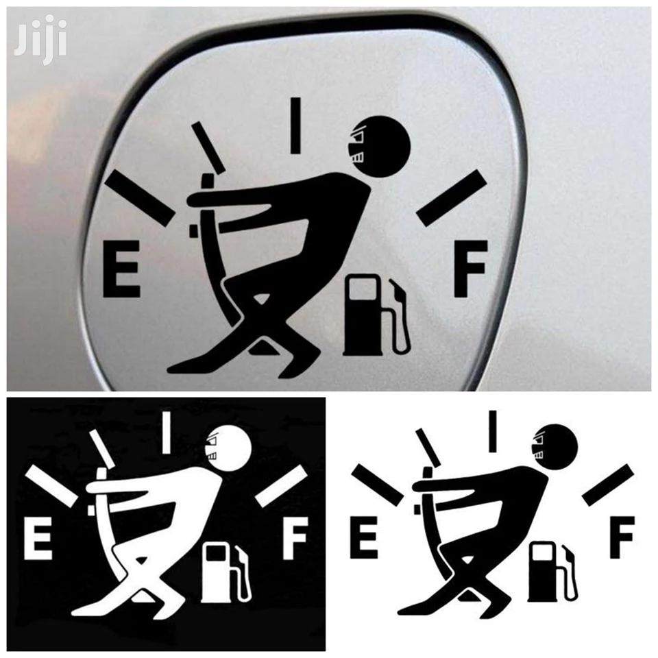 Universal Car Sticker Funny Car Sticker High Gas Consumption Decalfuel
