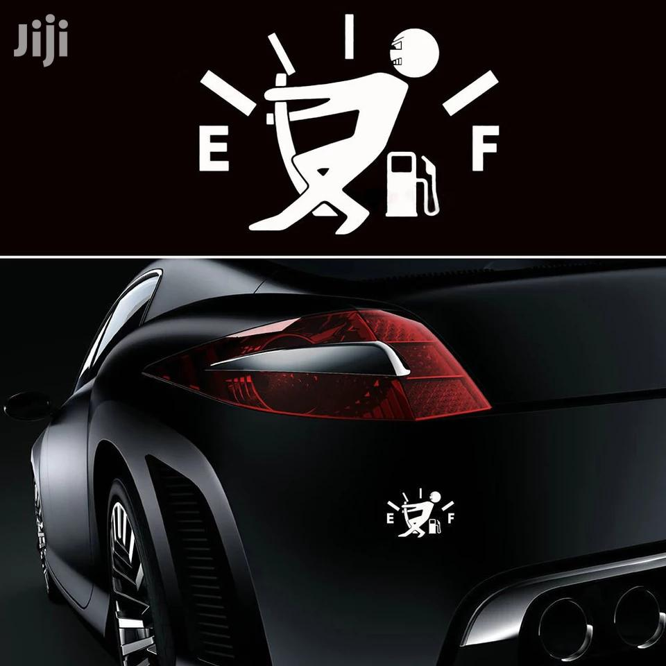 Universal Car Sticker Funny Car Sticker High Gas Consumption Decalfuel   Vehicle Parts & Accessories for sale in Kampala, Central Region, Uganda
