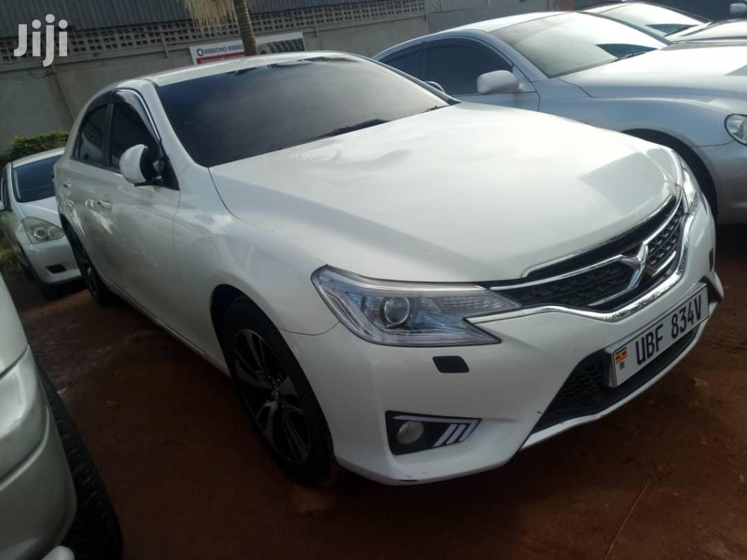 Toyota Mark X 2011 White   Cars for sale in Kampala, Central Region, Uganda