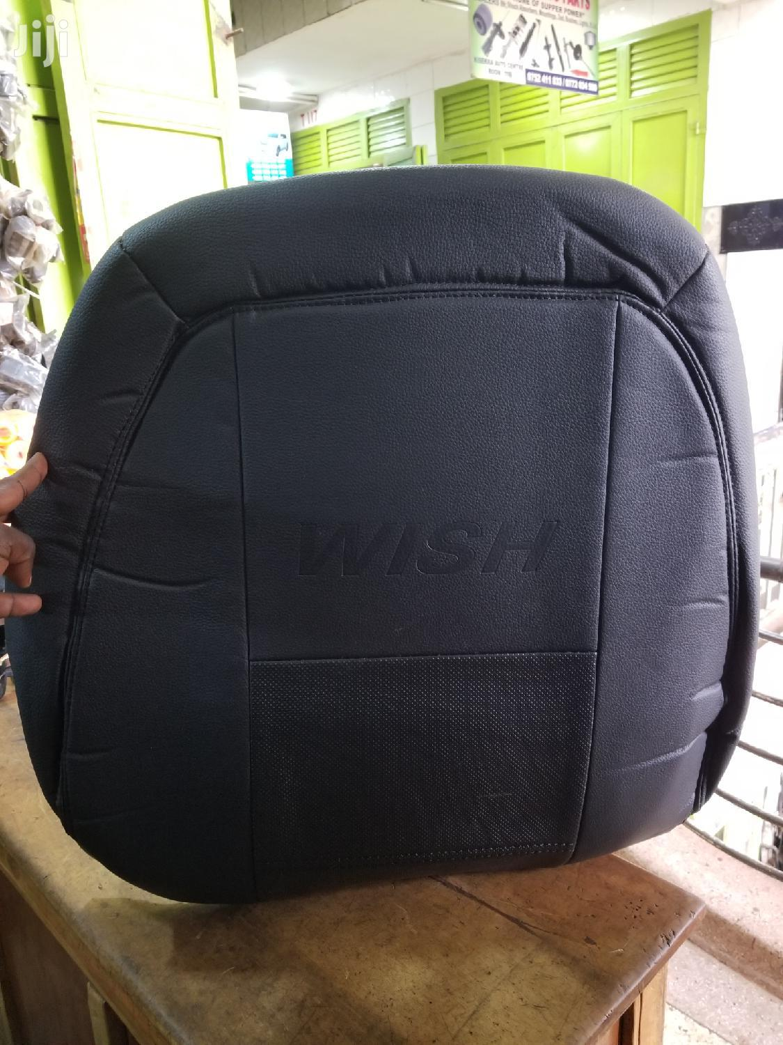 Black Seat Cover For Toyota Wish | Vehicle Parts & Accessories for sale in Kampala, Central Region, Uganda
