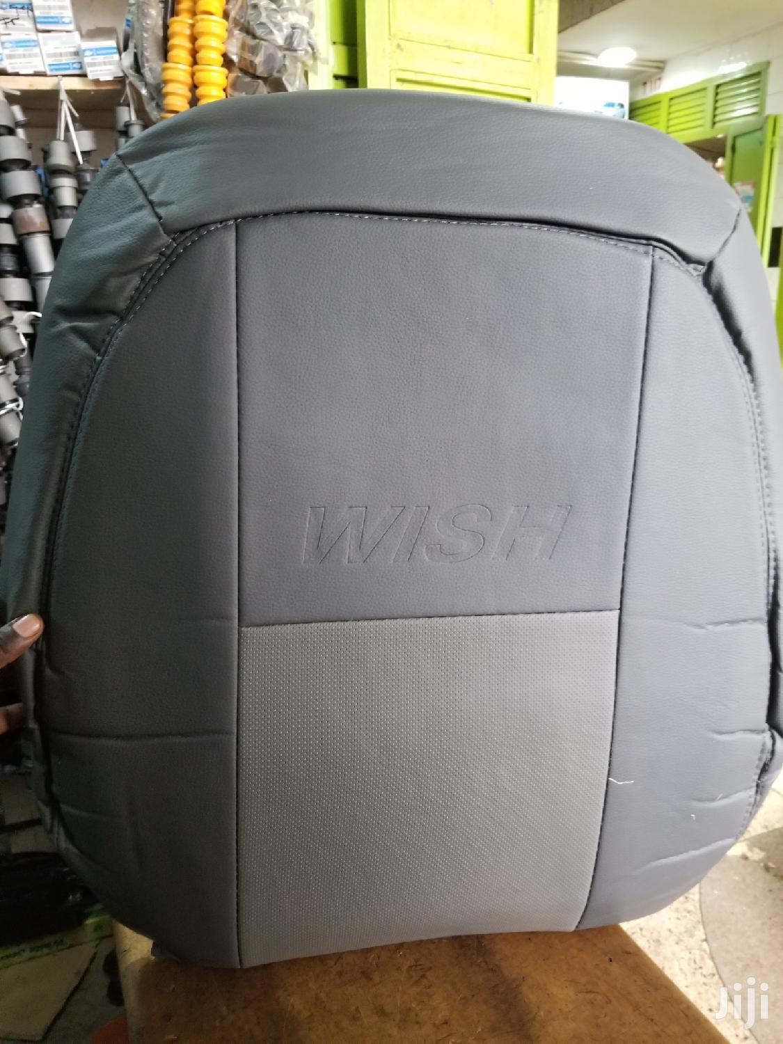Gray Seat Covers For Toyota Wish | Vehicle Parts & Accessories for sale in Kampala, Central Region, Uganda
