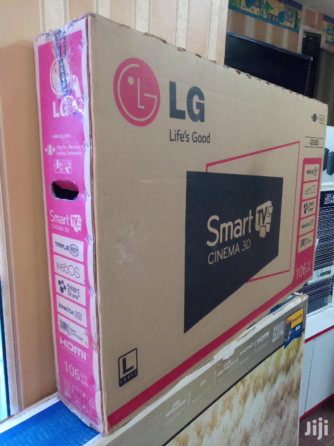 BOXED LG 42inches Smart 3D 4k