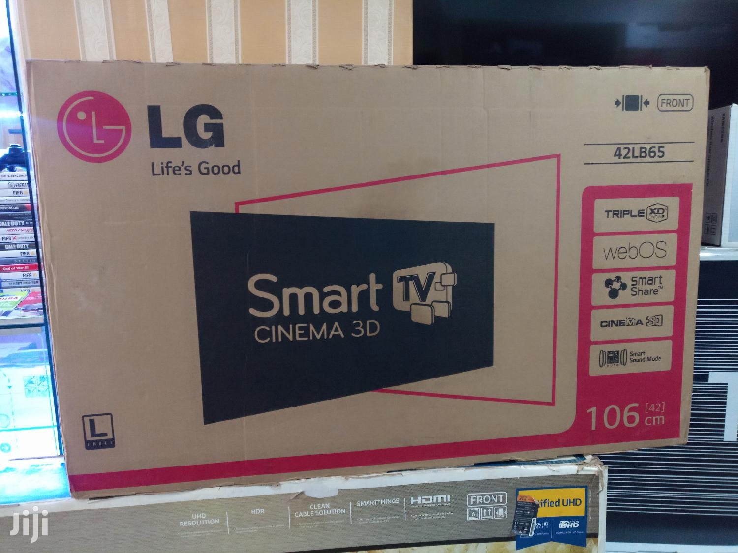 BOXED LG 42inches Smart 3D 4k | TV & DVD Equipment for sale in Kampala, Central Region, Uganda