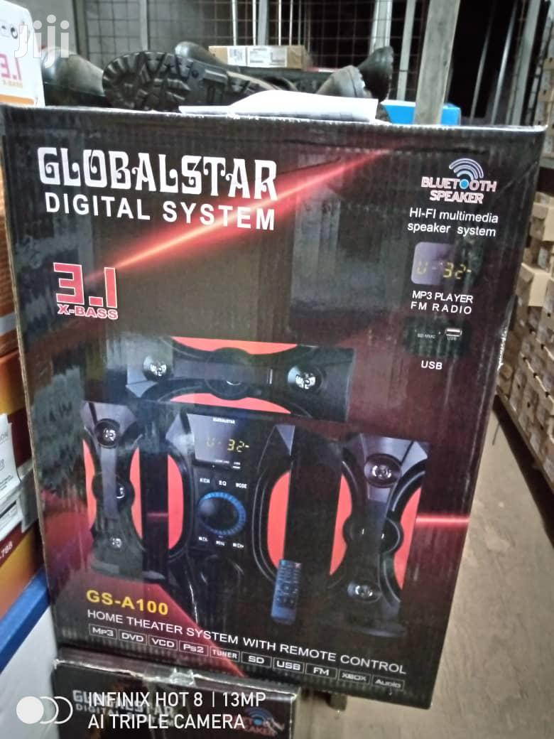 Globalstar GS-A100- 3.1 Channel Hifi Bluetooth Enabled - 2000W | Audio & Music Equipment for sale in Kampala, Central Region, Uganda