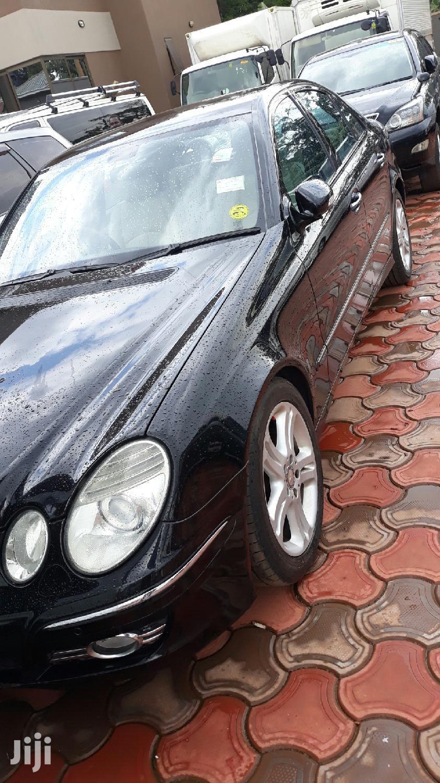 Archive: Mercedes-Benz E200 2009 Black