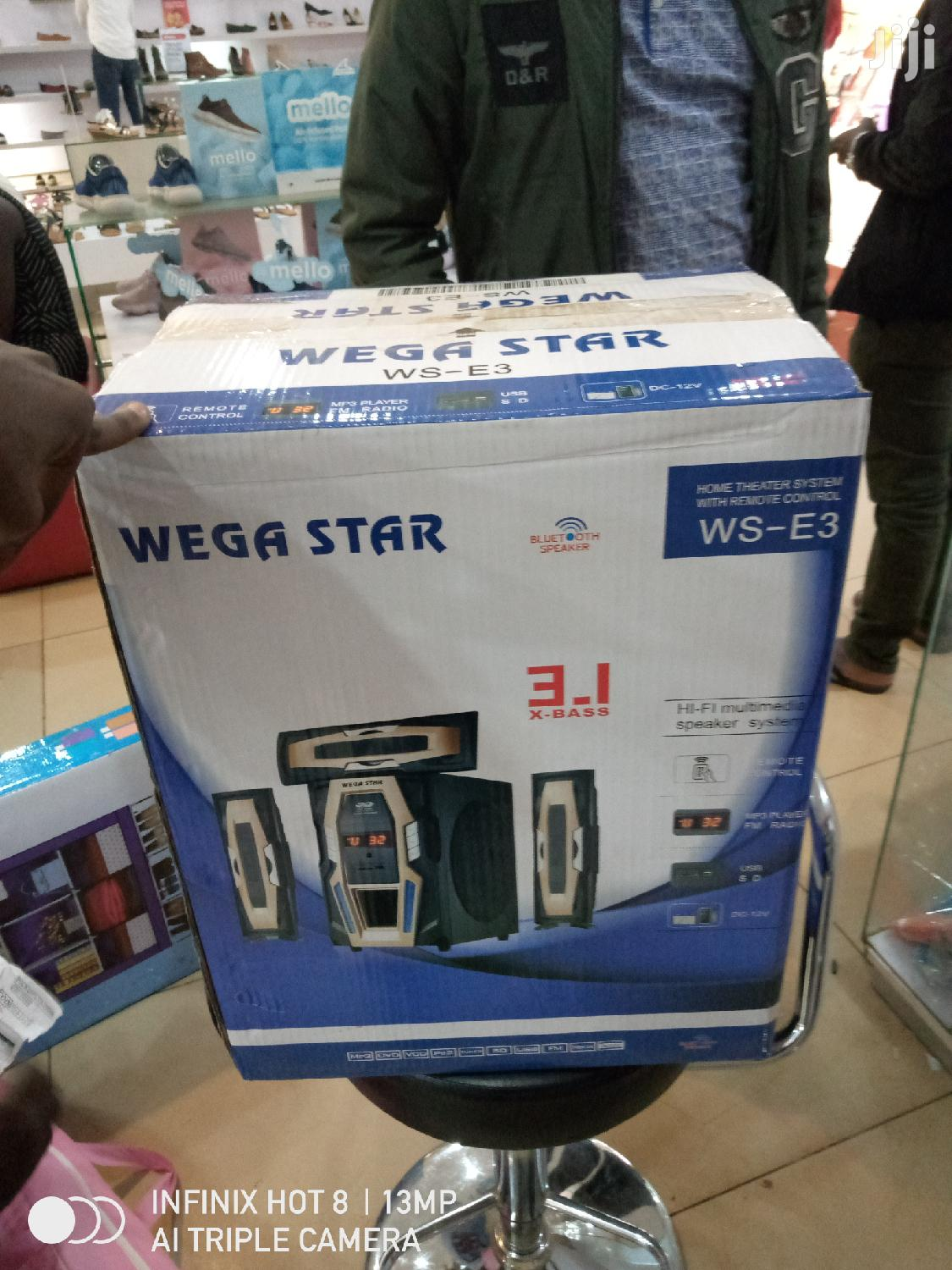 Wegastar 3.1 Channels Free Delivery Within Kampala | Audio & Music Equipment for sale in Kampala, Central Region, Uganda