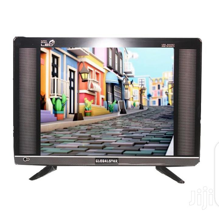 "Global Star Analog LED TV 17""Protect Double Glass- Black"
