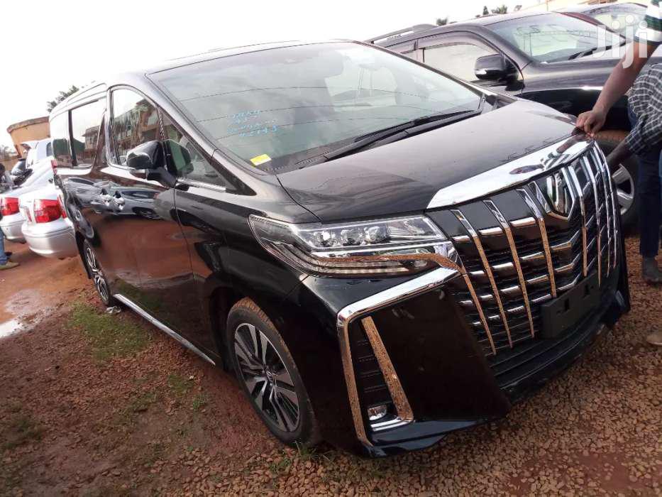 Archive: New Toyota Alphard 2018 Black