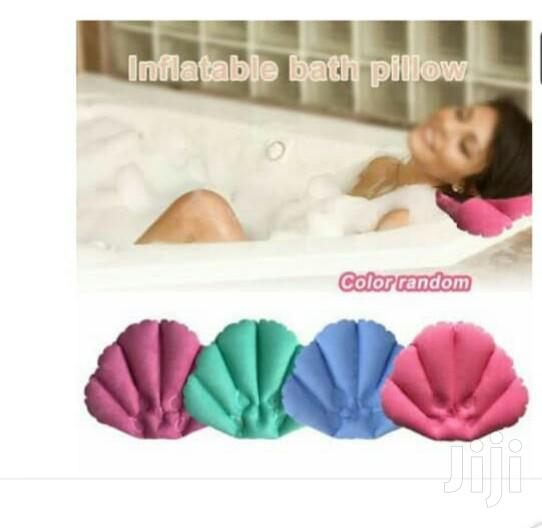 Bath Pillow With Suction Cups Neck And Back Support | Bath & Body for sale in Kampala, Central Region, Uganda