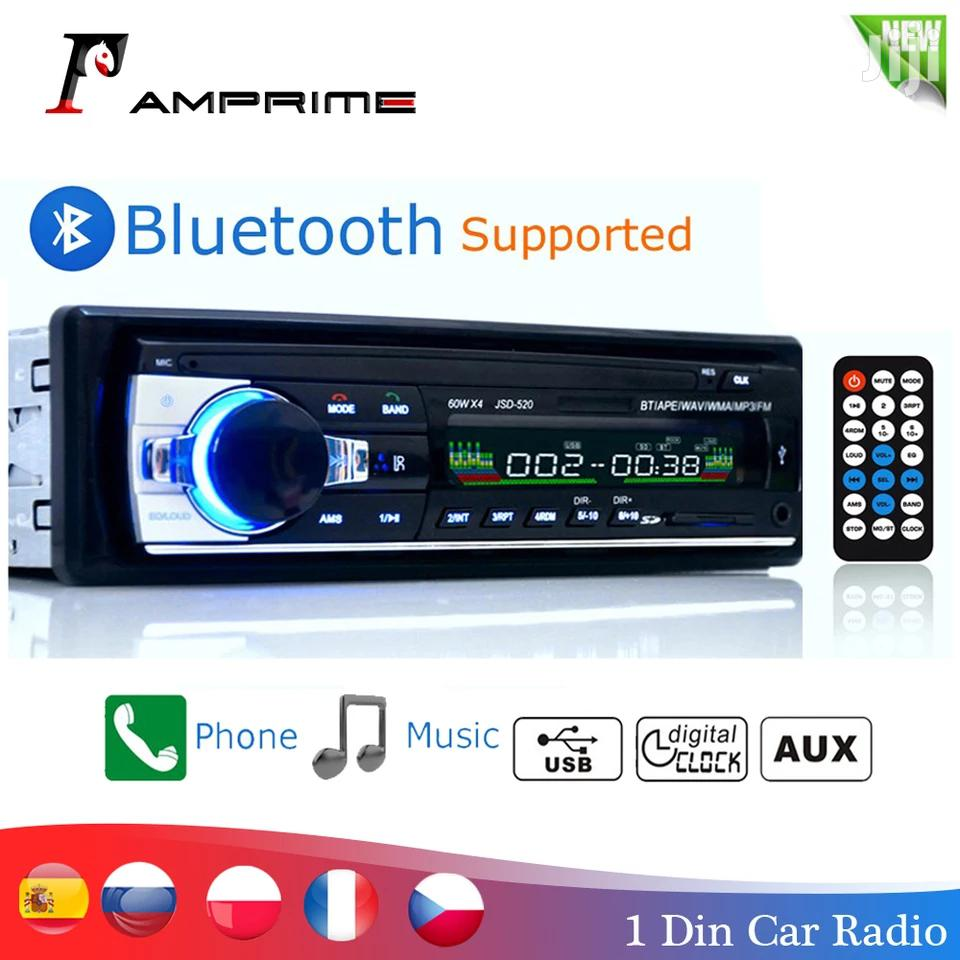 FREE Music Through Bluetooth Car Radio Single Din Black Friday