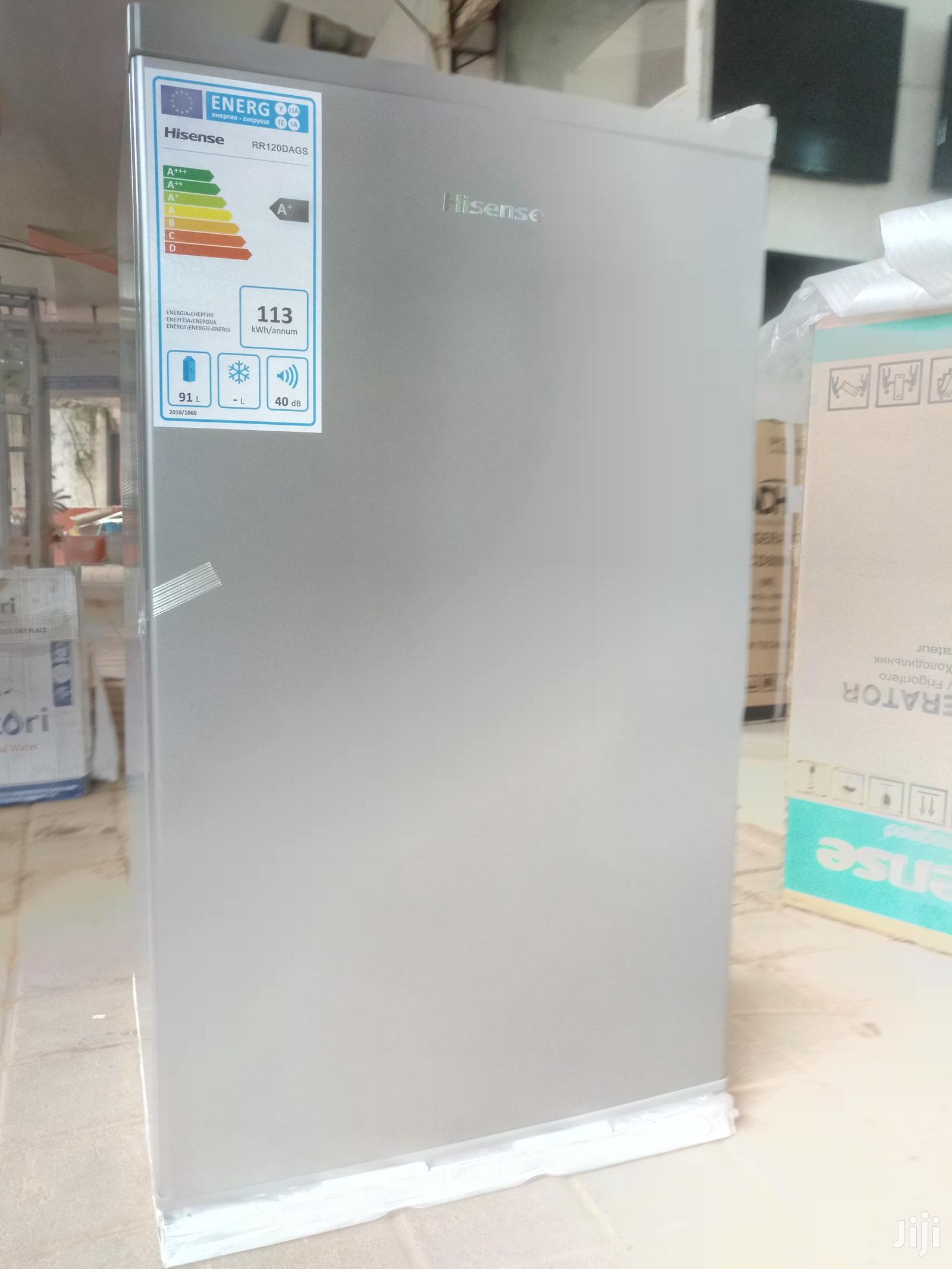 Hisense Double Door Refrigerator 120L