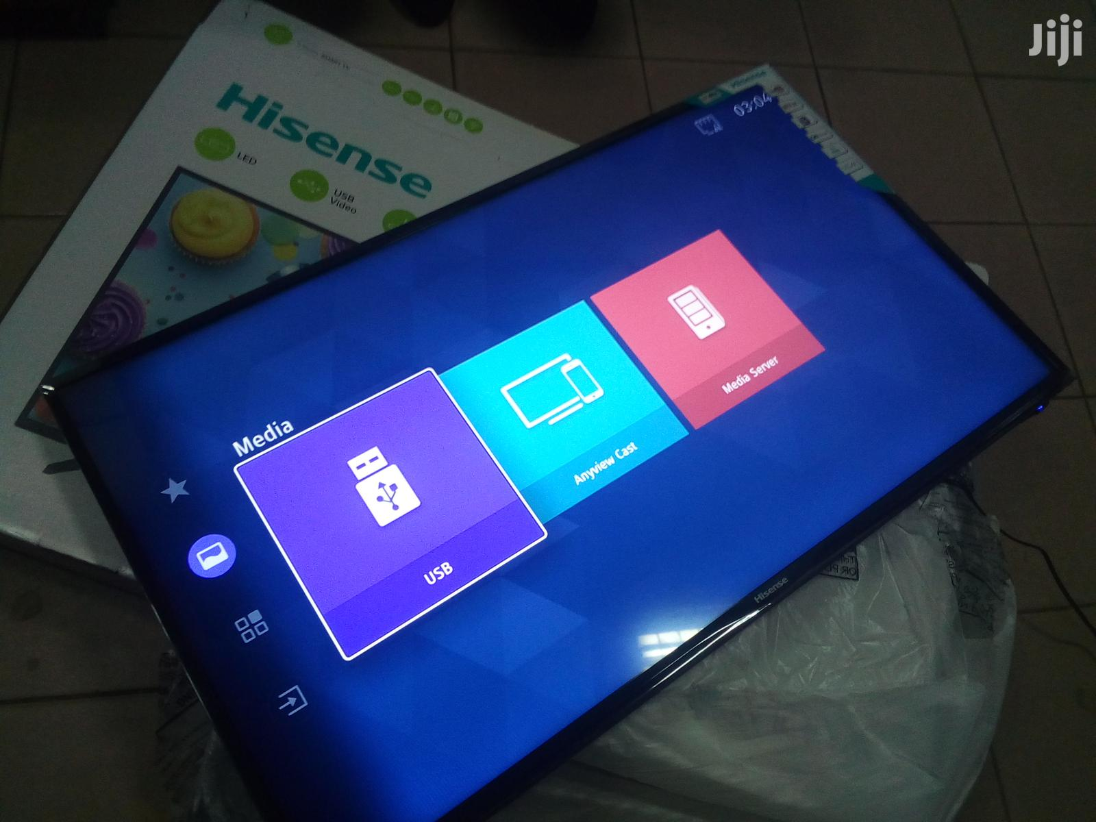 Brand New Hisense Digital Smart Flat Screen Tv 43 Inches
