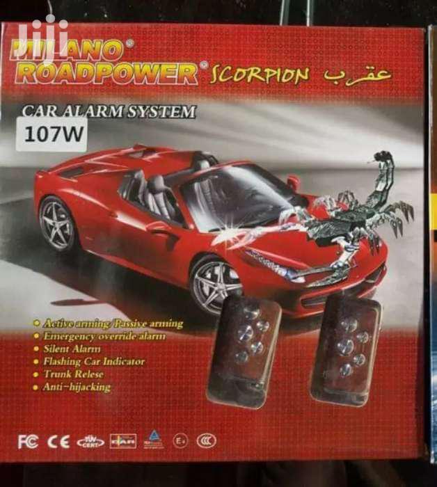 Scorpion Car Alarm With Best Sensor Ever