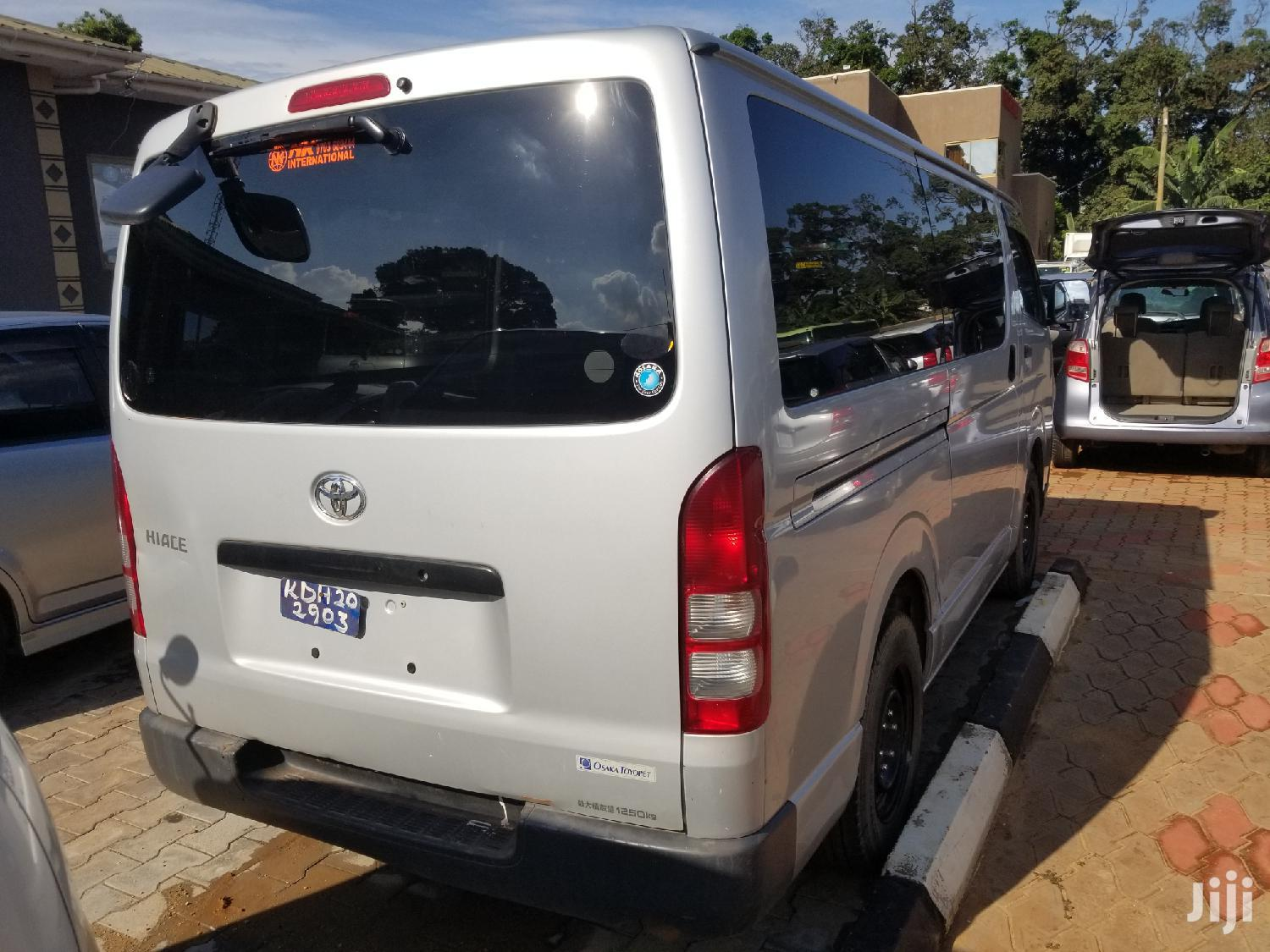 Toyota HiAce 2006 Silver   Buses & Microbuses for sale in Kampala, Central Region, Uganda