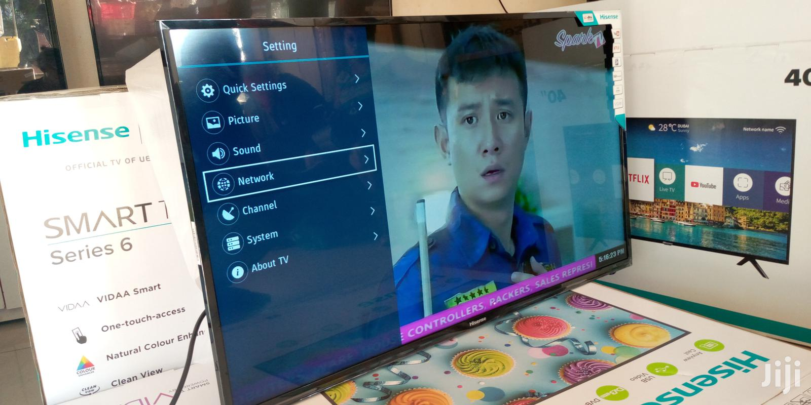 43 Inches Led Hisense Smart