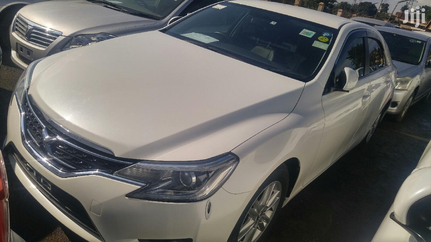 New Toyota Mark X 2012 White