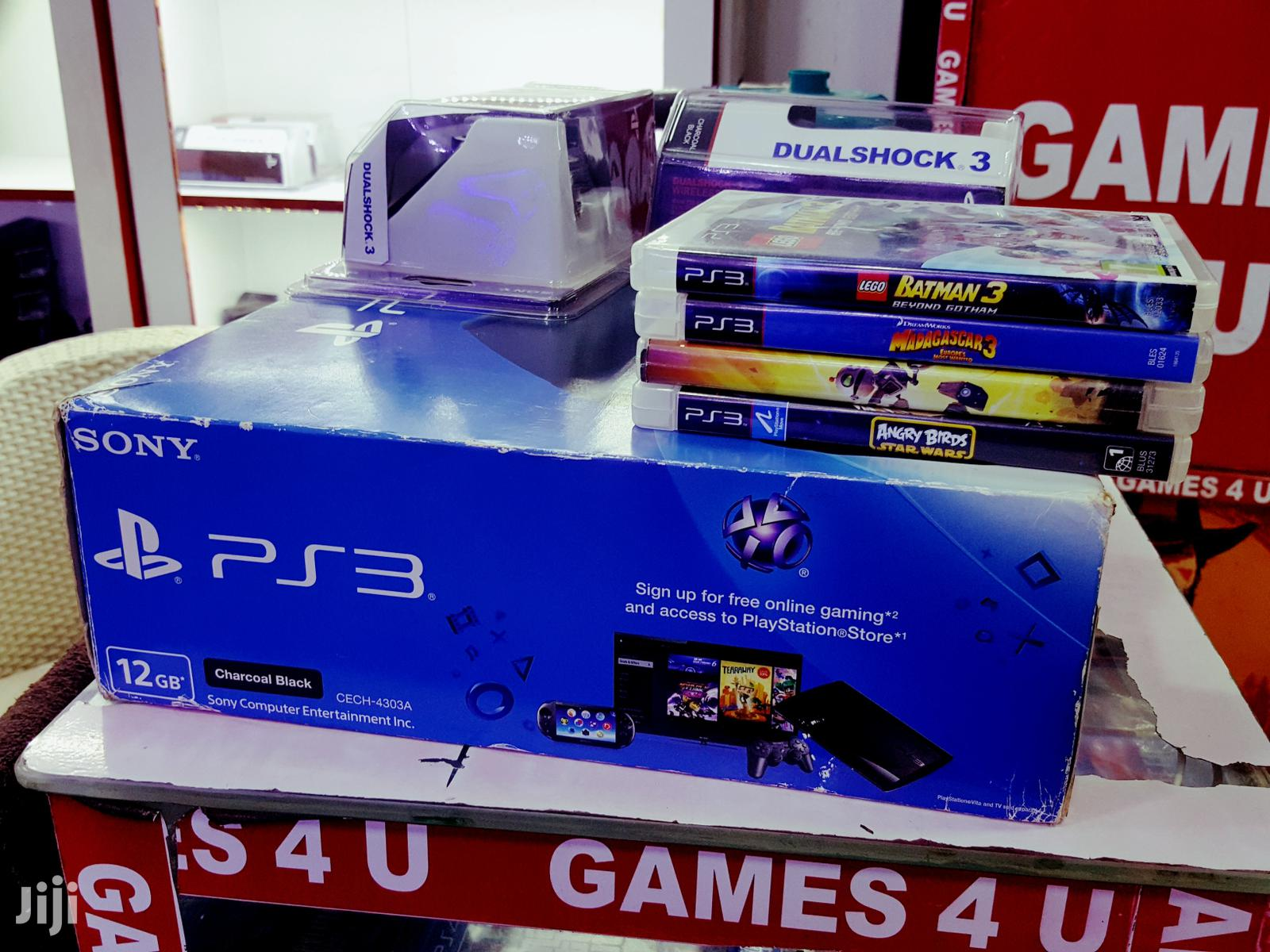 Archive: Playstation 3 Console With Fifa19 And Two Brand New Controllers