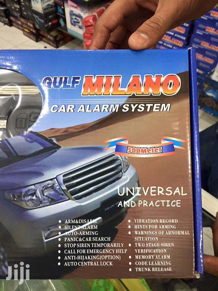 Gulf Milano Car Alarm System Universal