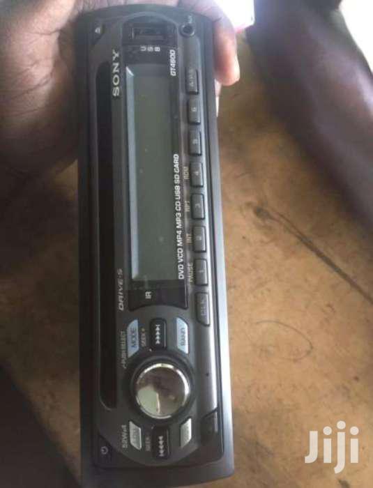 New Sony Nice Car Radio