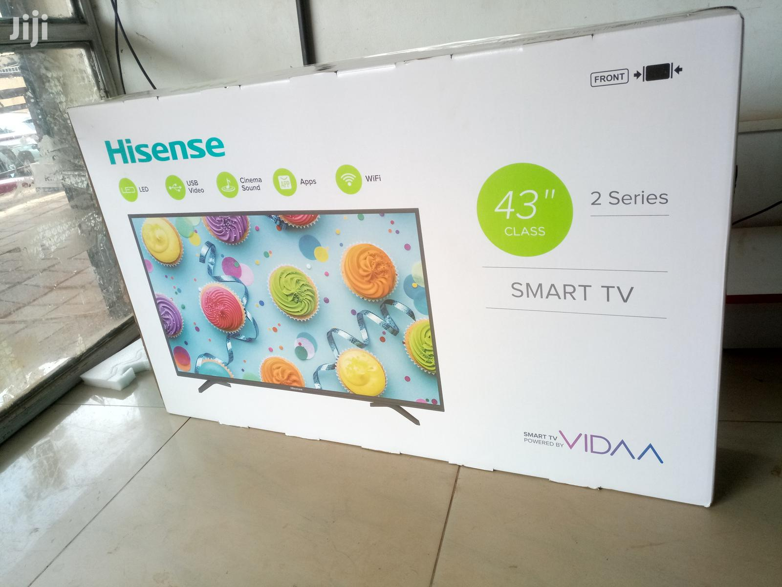 Hisense Smart Flat Screen Digital TV 43 Inches | TV & DVD Equipment for sale in Kampala, Central Region, Uganda