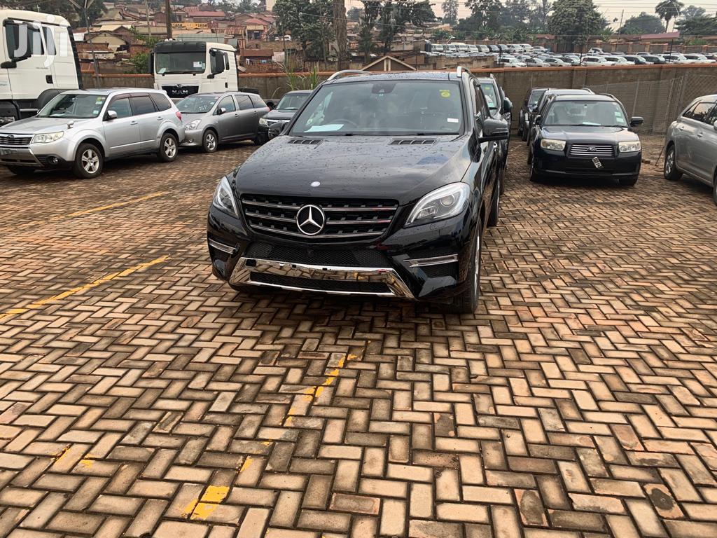 New Mercedes-Benz M Class 2015 Black