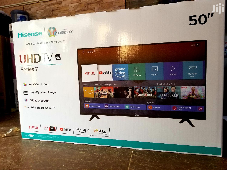 Hisense Smart UHD 4k TV 50 Inches
