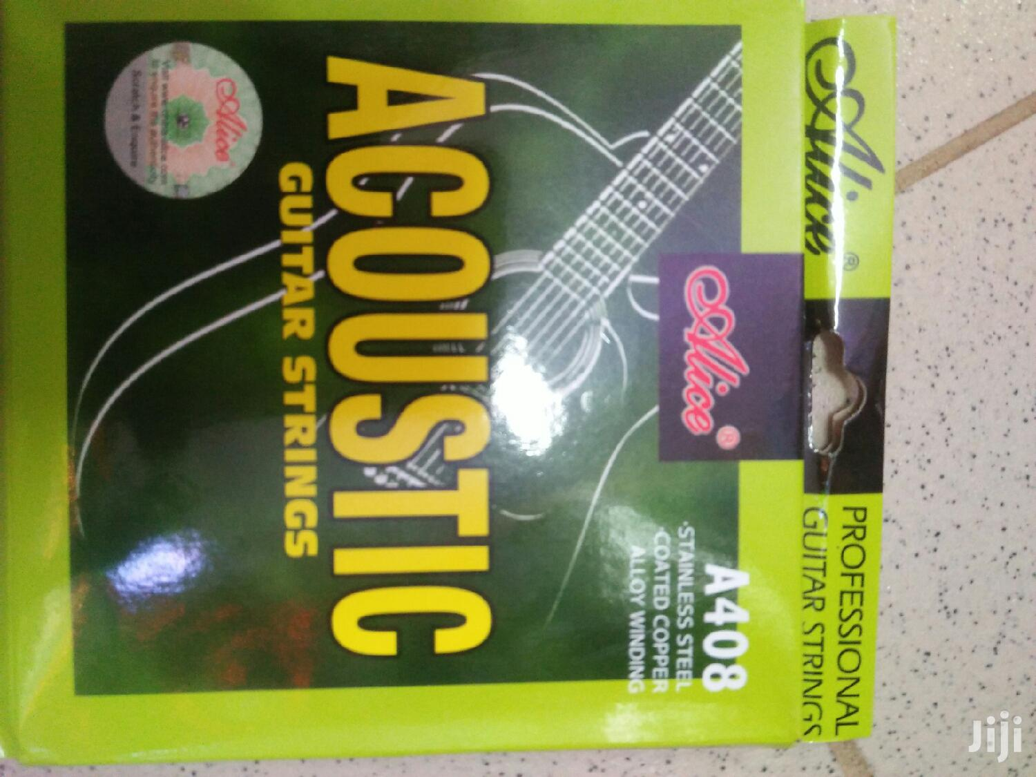 Archive: Acoustic Guitar Strings Full Set