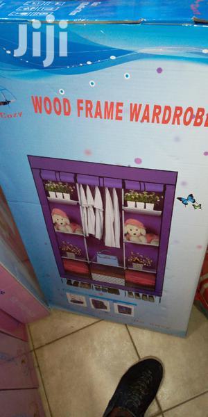 Modern Wood Frame Wardrobe | Furniture for sale in Central Region, Kampala