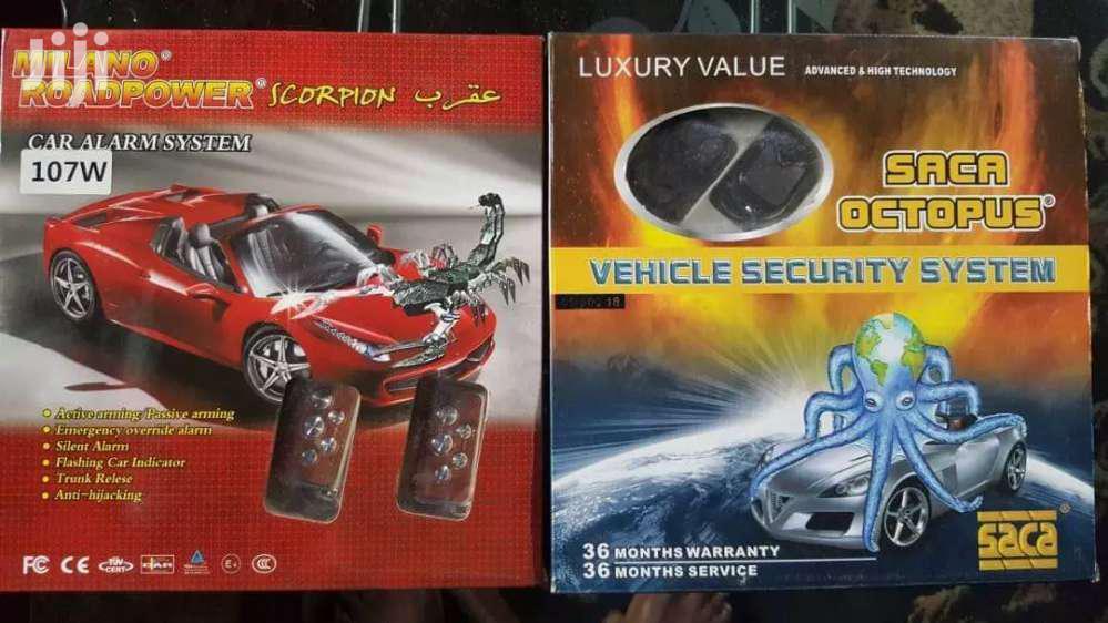 Car Alarm Arming Security On Your Car
