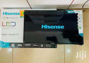 Hisense LED Digital Satellite Flat Screen TV 24 Inches | TV & DVD Equipment for sale in Central Region, Kampala