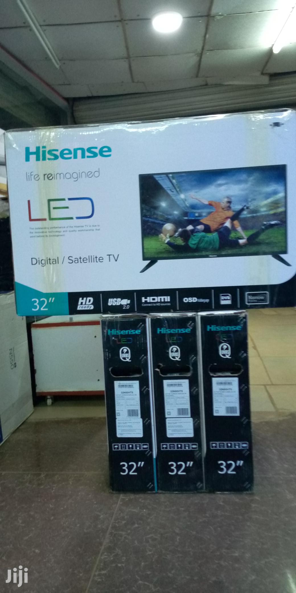 Hisense Digital Satellite Full HD 32''inches Led | TV & DVD Equipment for sale in Kampala, Central Region, Uganda