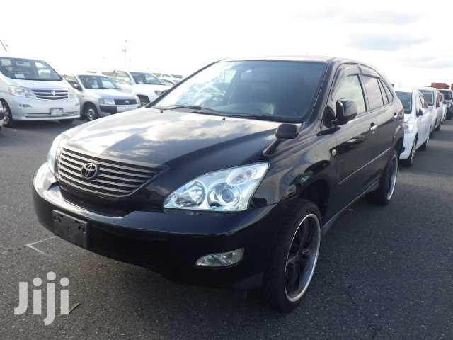 New Toyota Harrier 2006 Black