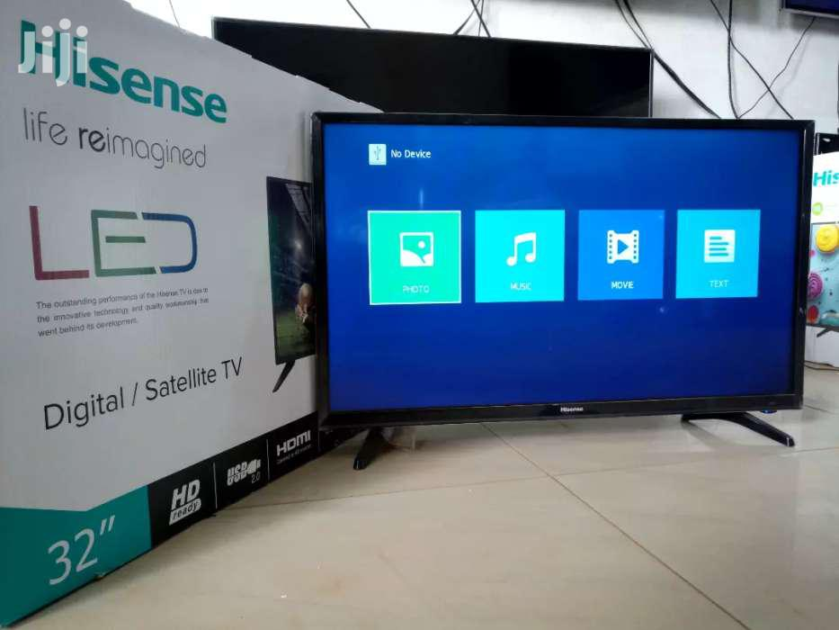 Hisense Flat Screen TV 32 Inches   TV & DVD Equipment for sale in Kampala, Central Region, Uganda
