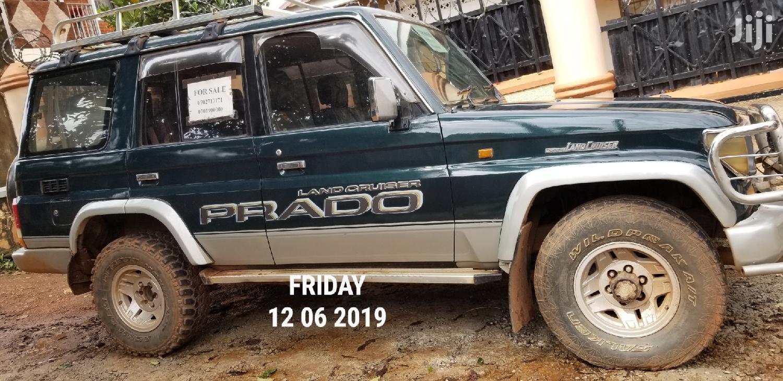 Archive: Toyota Land Cruiser Prado 1992 Green