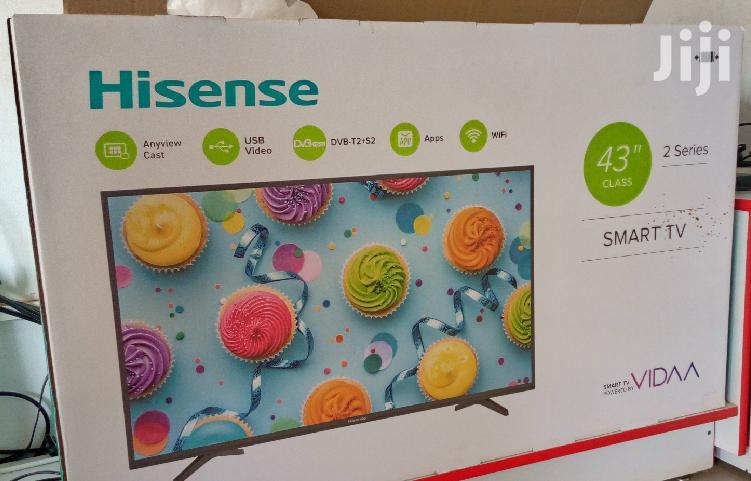Hisense Led Smart Tv 43 Inches