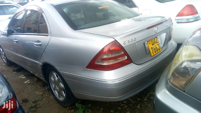 Mercedes-Benz C200 2003 Silver | Cars for sale in Kampala, Central Region, Uganda
