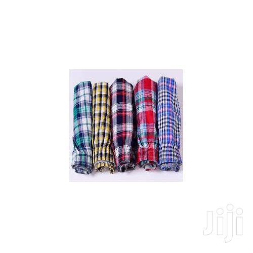 5 Pcs Men's Checkered Boxers Multi Colours | Clothing for sale in Kampala, Central Region, Uganda