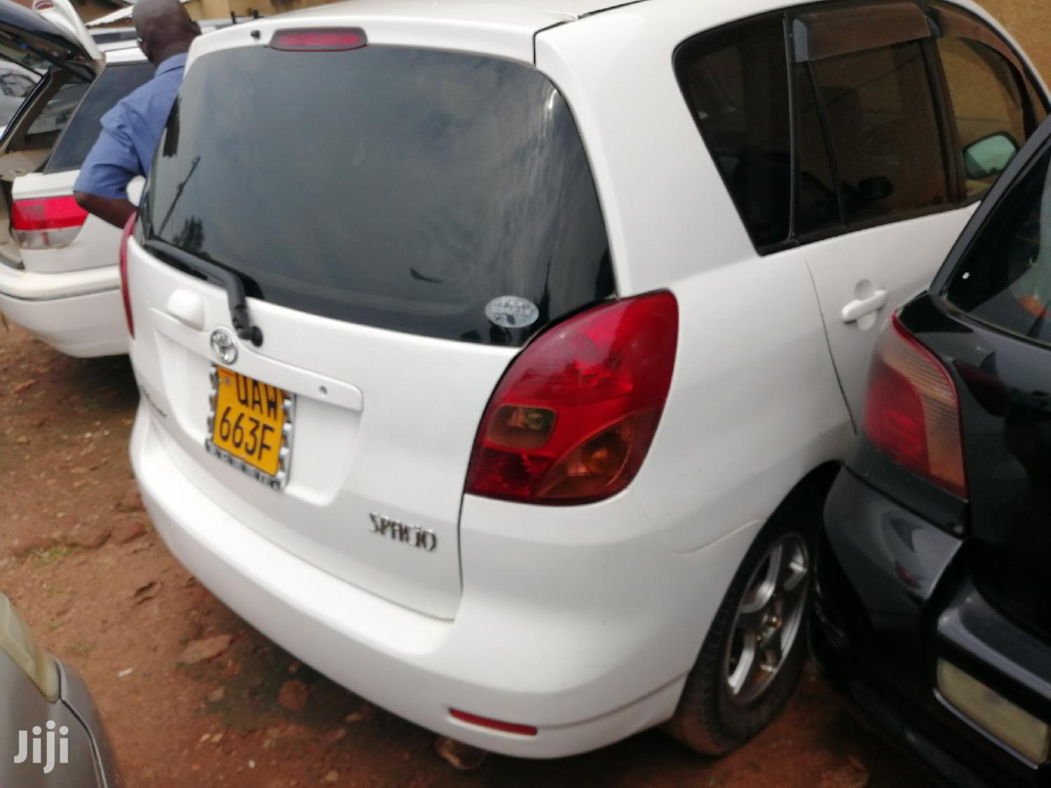 Toyota Spacio 2004 White | Cars for sale in Kampala, Central Region, Uganda