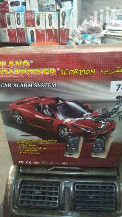 Car Alarm With Standard Security Features.