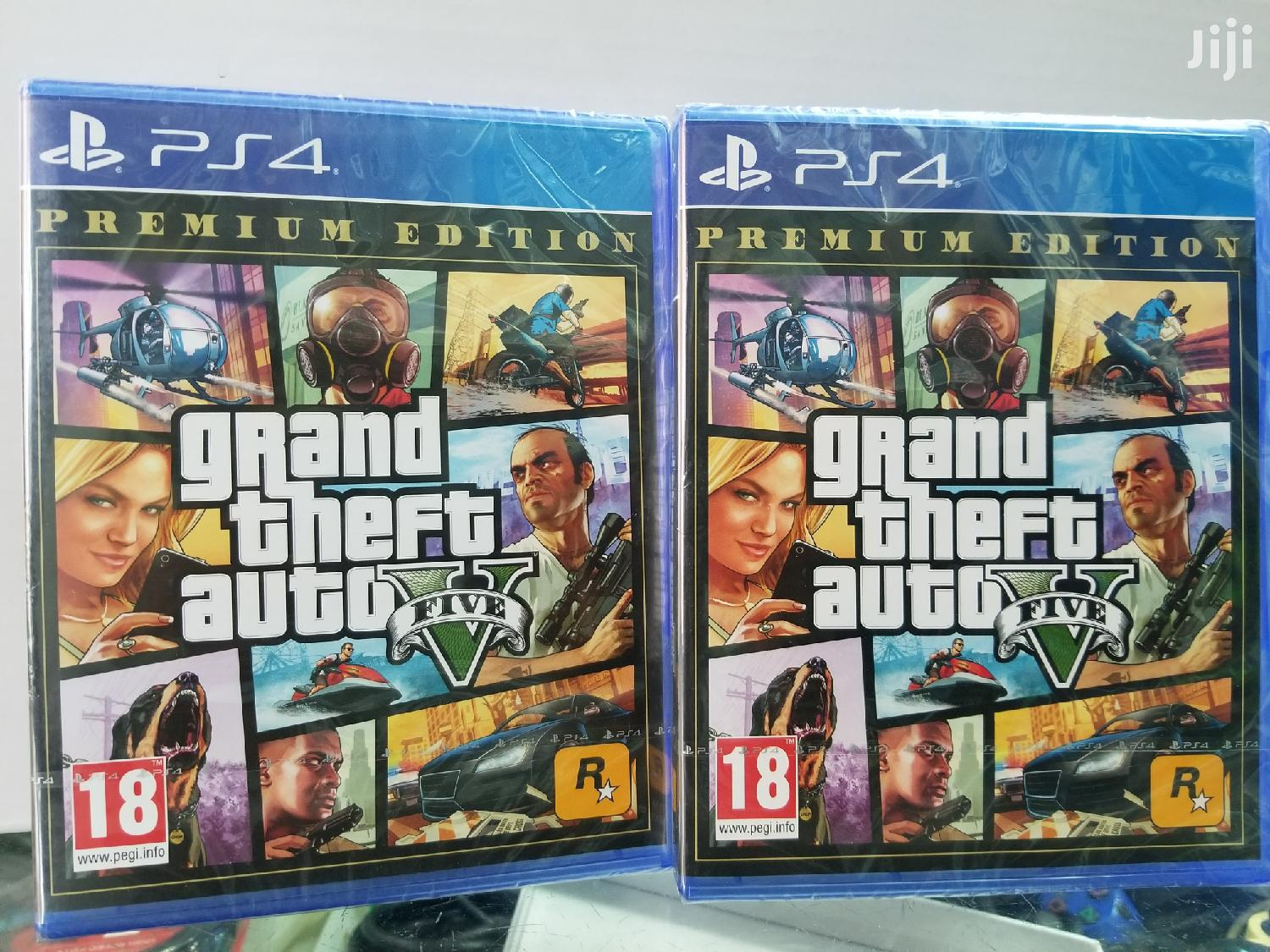 GTA 5 Game For Ps4