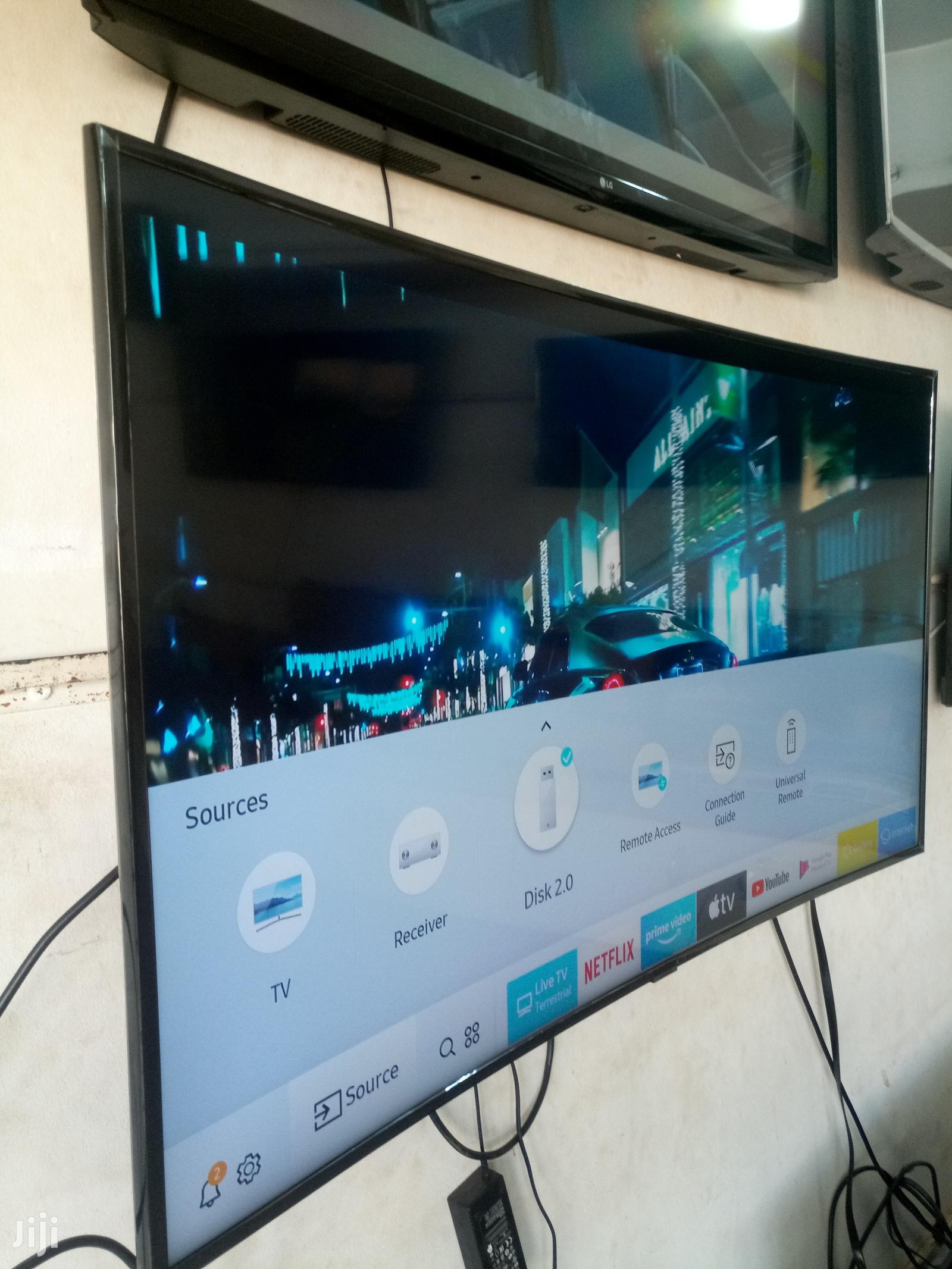Samsung Curved RU Smart UHD 4k Digital TV 55 Inches | TV & DVD Equipment for sale in Kampala, Central Region, Uganda