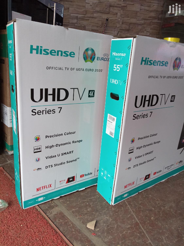 Brand New Hisense 55inches Smart UHD 4K Tvs