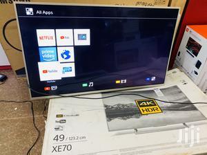 Sony 49inches UHD 4K Smart