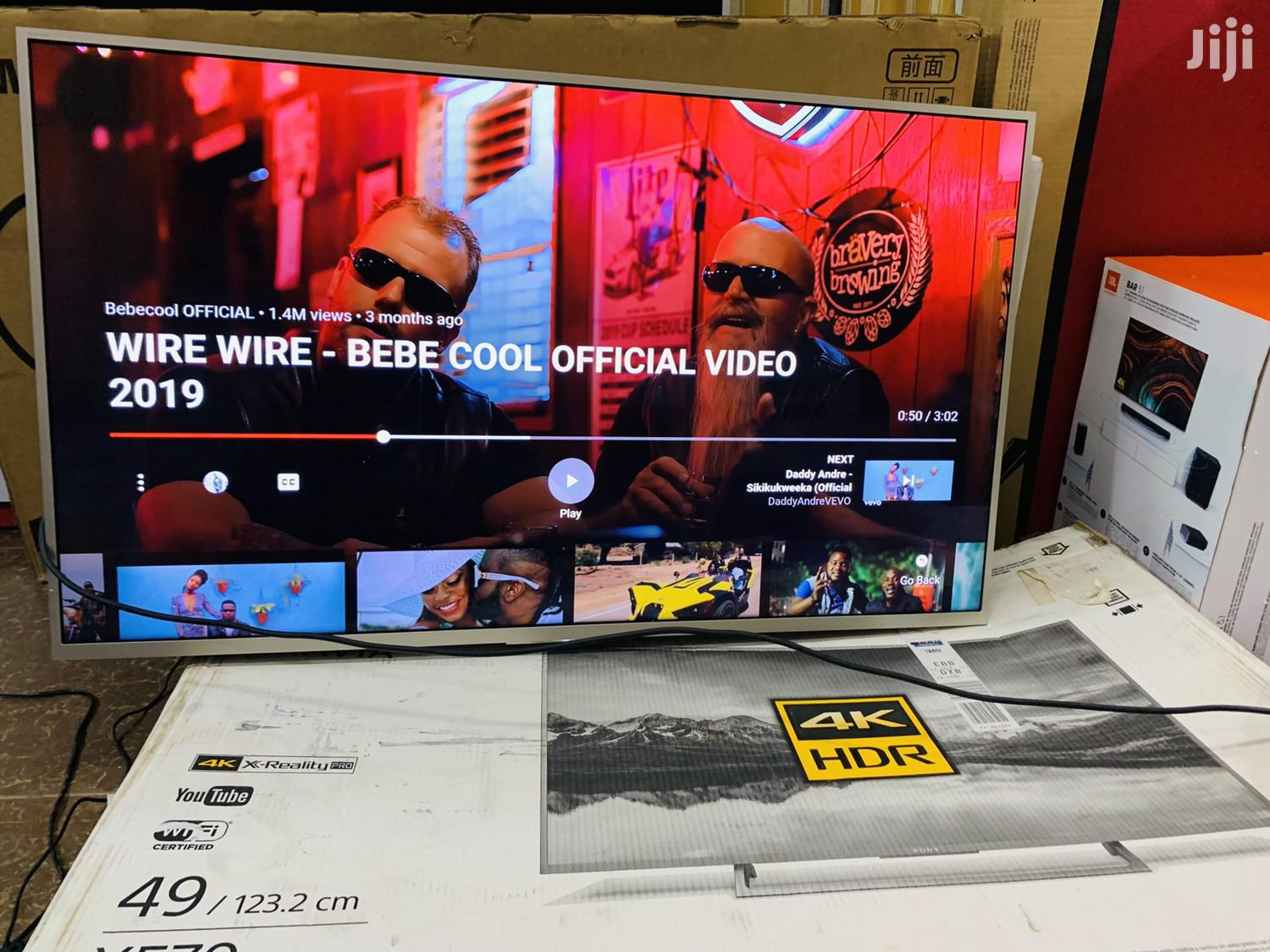 Sony 49inches UHD 4K Smart | TV & DVD Equipment for sale in Kampala, Central Region, Uganda