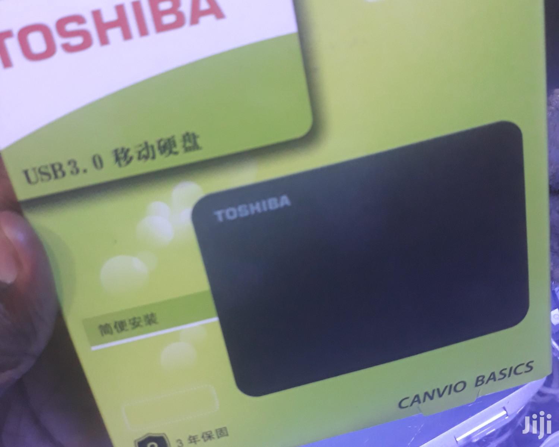 Archive: Toshiba External Hard Drive 500GB