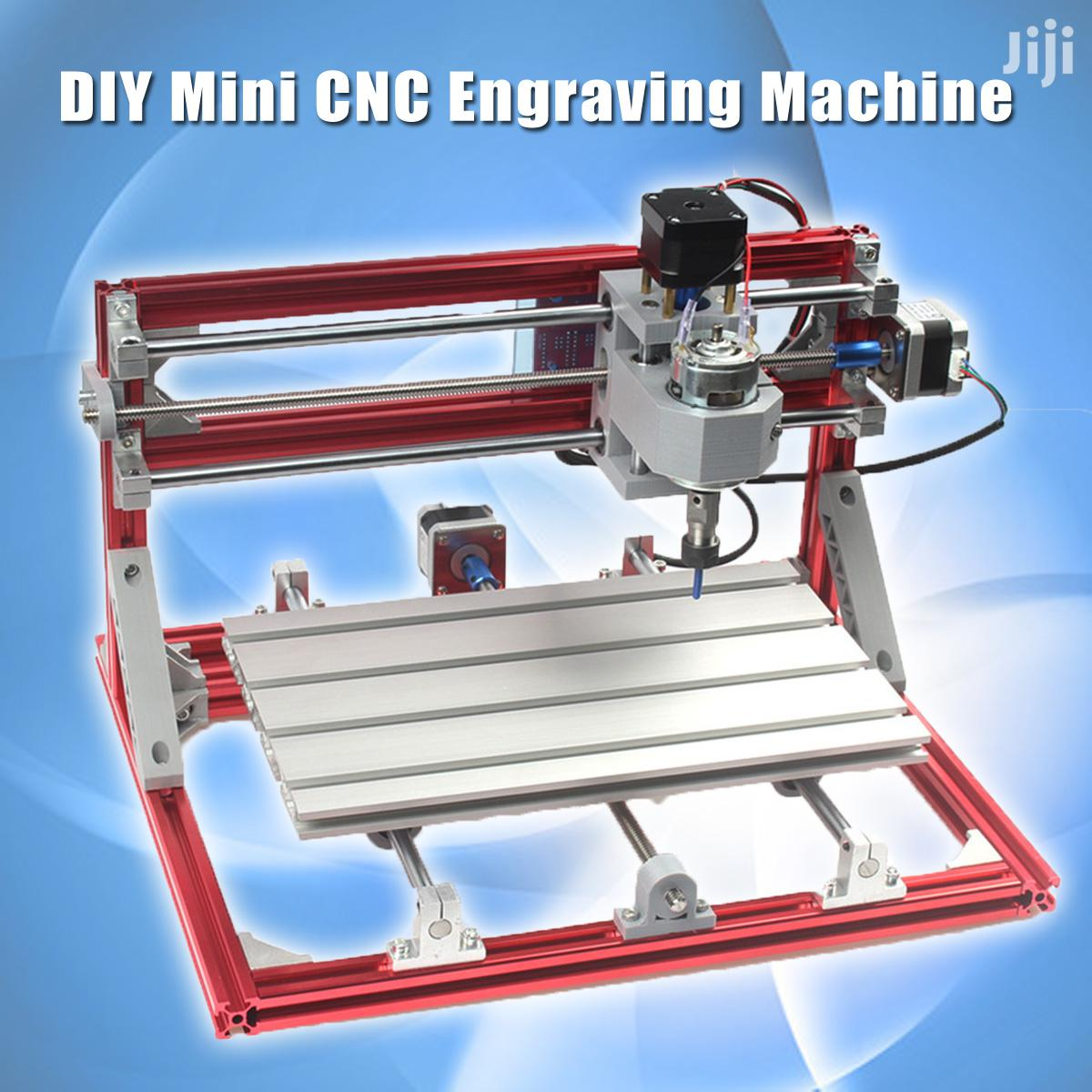3018 3 Axis Red CNC Wood Engraving Carving PCB Milling Machine Router | Manufacturing Equipment for sale in Kampala, Central Region, Uganda